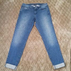 Michael Kors boyfriend jeans with cuffs